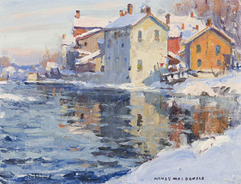 Winter in Nova Scotia by Manly Edward MacDonald