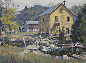 Old Mill by Manly Edward MacDonald