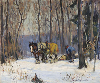 Winter Logging by Manly Edward MacDonald