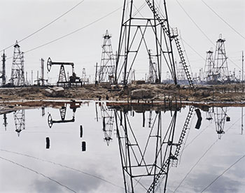 Socar Oil Fields #3, Baku, Azerbaijan by Edward Burtynsky
