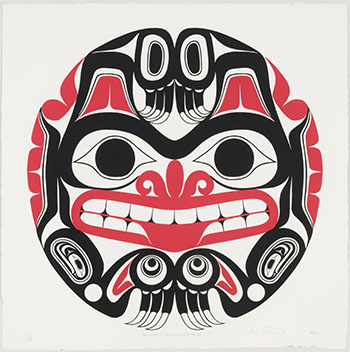 Haida Grizzly Bear by William Ronald (Bill) Reid