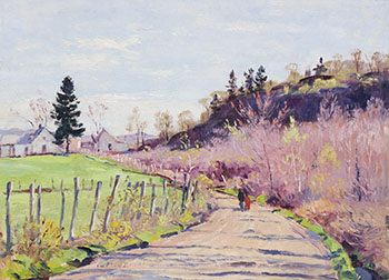 Spring Day, Ste. Flore, PQ by Robert Wakeham Pilot