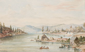 The Settlement of Shebanwanning, Ontario by William Armstrong