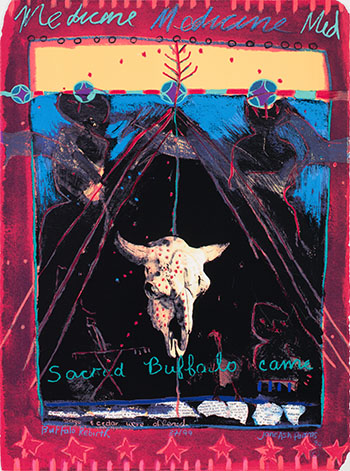Sacred Buffalo Came (Buffalo Rebirth) by Jane Ash Poitras