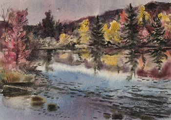 Oxtongue River, Algonquin by William Abernethy Ogilvie