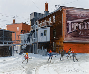 St-Antoine Street by Terry Tomalty