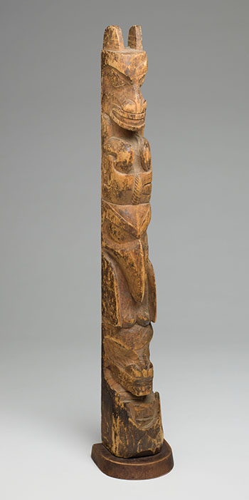 Haida Totem Pole by  Northwest Coast Artist, Unidentified