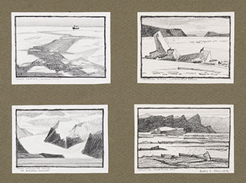 Four Thumbnails #3 by Alan Caswell Collier