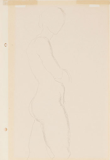 Female Nude by Lionel Lemoine FitzGerald