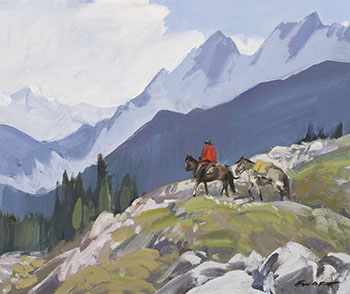 In the Selkirks by Peter Ewart