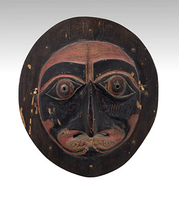 Moon Mask by Unidentified Northwest Coast Artist