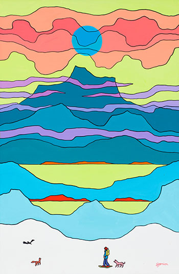 Mountain Clouds by Ted Harrison